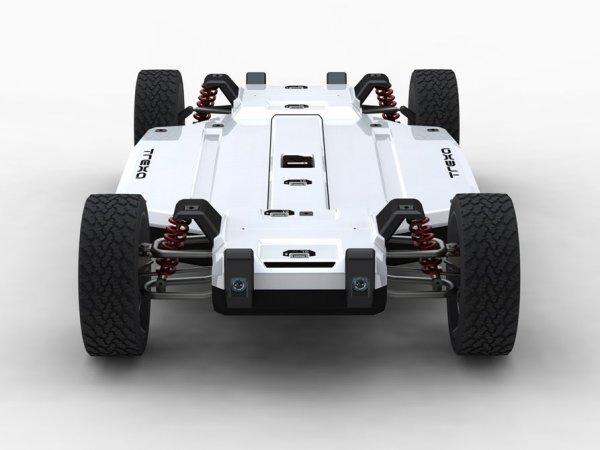 Корпорация Trexa презентовала электромобиль-конструктор