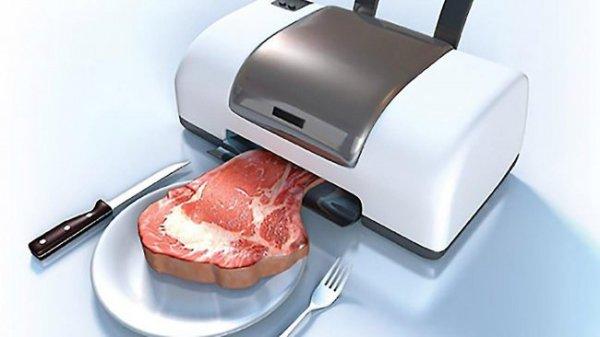 Скоро на кухнях появятся 3D принтеры для печати пищи