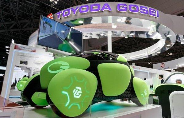 В ходе токийского автошоу презентовали «резиновый» автомобиль