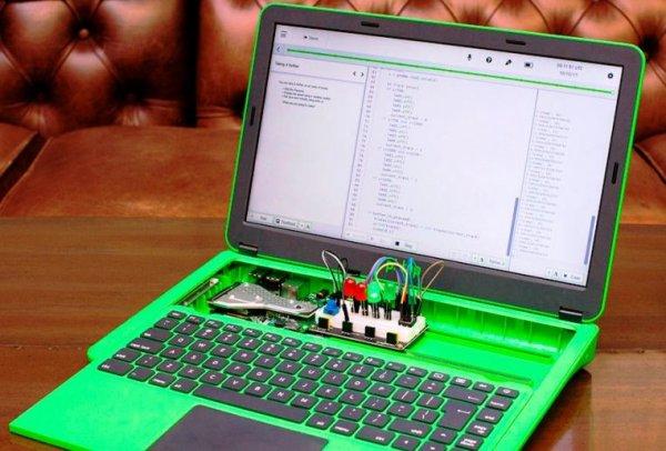 Корпорация Raspberry Pi презентовала инновационный ноутбук