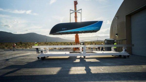 Virgin Hyperloop One займётся строительством первой транспортной системы
