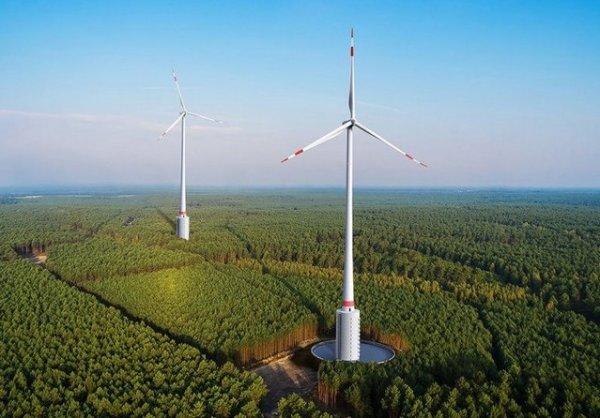 В Германии построят высочайшую ветровую турбину на планете