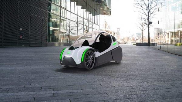 Корпорация Elpedal Podbike презентовала уникальный веломобиль