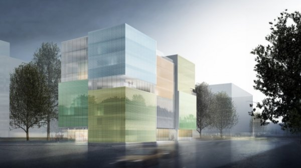В Женеве построят необычное здание с солнечными панелями