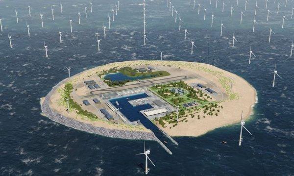 В Северном море хотят построить огромную электростанцию