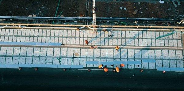 В Китае строят дороги из солнечных панелей