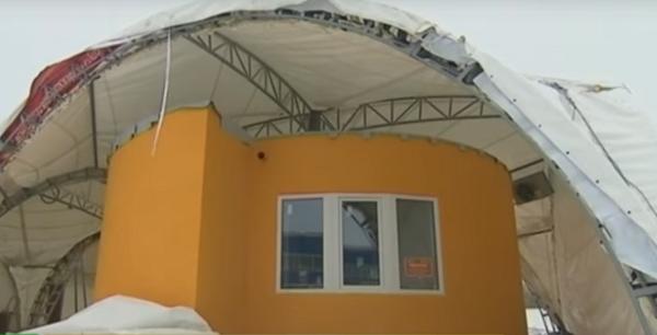 В Подмосковье начали возводить дома с помощью 3D-принтера