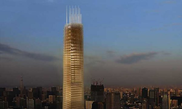 В Токио построят небоскрёб из дерева, высотой семьдесят этажей