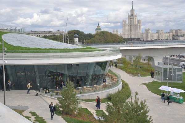 В парке «Зарядье» строят действительно уникальный зал для концертов