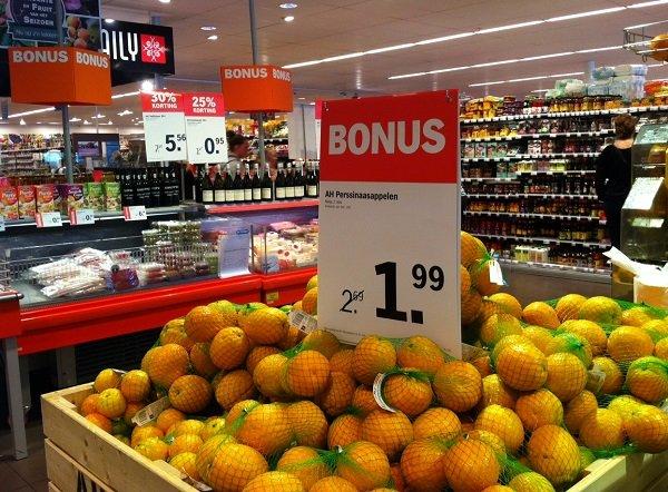 В голландском гипермаркете появился отдел без пластика