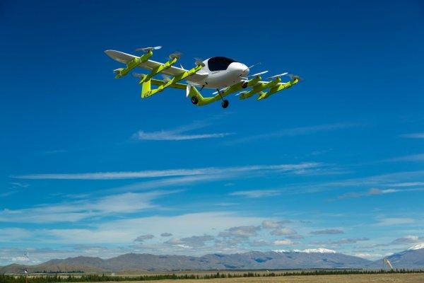 В Новой Зеландии испытывают летающее такси