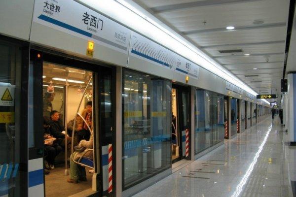 В Шанхае запустили беспилотную ветку метрополитена