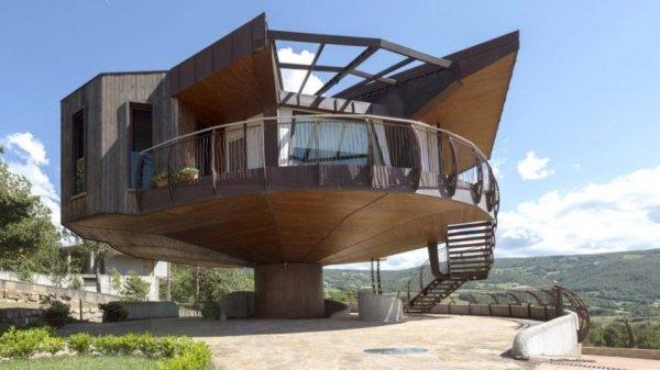 В Италии построили вращающийся дом