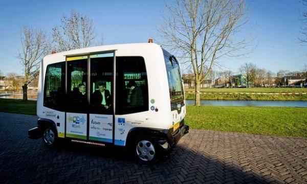 В Финляндии испытывают беспилотные автобусы