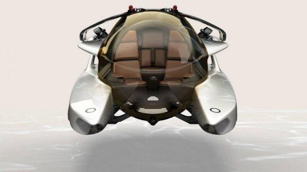 Aston Martin хочет создать подводную лодку, работающую на электричестве