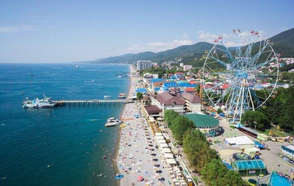 Лазаревское – хорошее место для отдыха на морском побережье