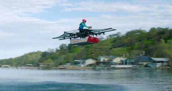 Компания Kitty Hawk продемонстрировала летающий автомобиль
