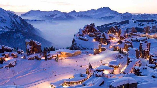 Самые популярные курорты во французских Альпах