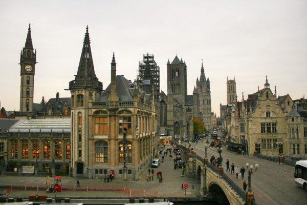 Гент – один из популярнейших городов среди туристов
