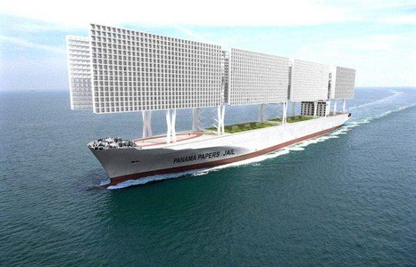 Французы хотят построить тюрьмы в виде корабля