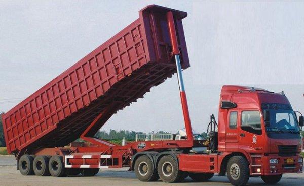Особенности выбора полуприцепа самосвала для перевозки грузов