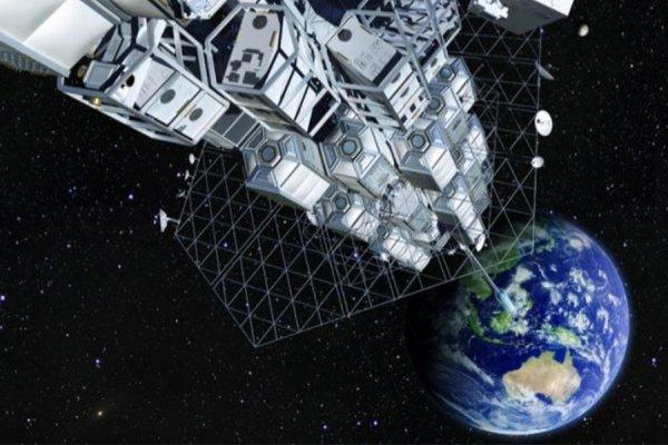 Япония хочет протестировать концепт космического лифта