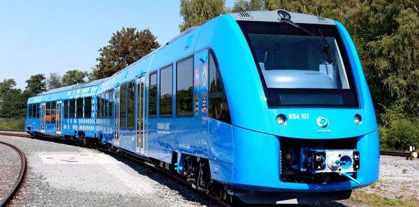 В Германии запустили первый водородный поезд
