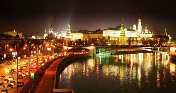 Ночные экскурсии по Москве