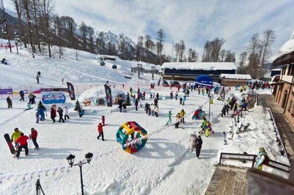Отдых в Красной Поляне зимой