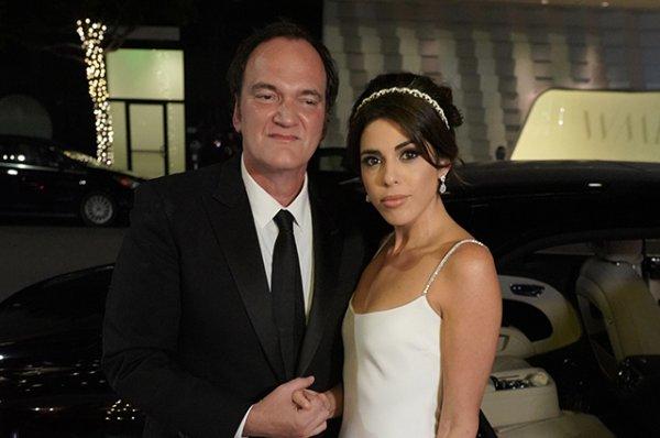 55-летний Квентин Тарантино впервые женился