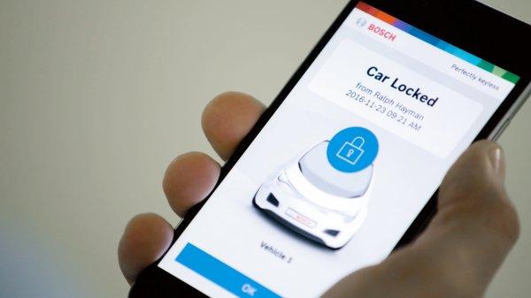 Bosch хочет избавиться от автомобильных ключей