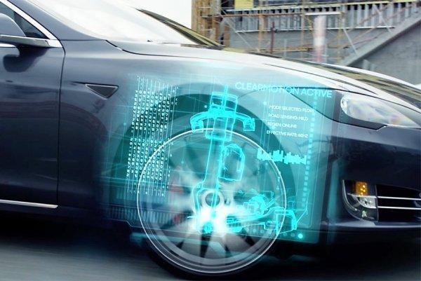Новые машины смогут плавно ездить по ухабам