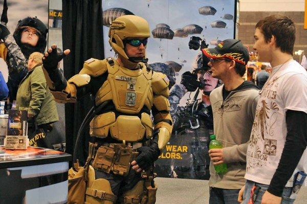 Инновационный экзоскелет заинтересовал американских военных