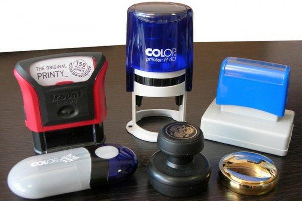 Классификация печатей и штампов