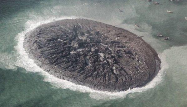 Исчез самый большой остров, созданный из грязи