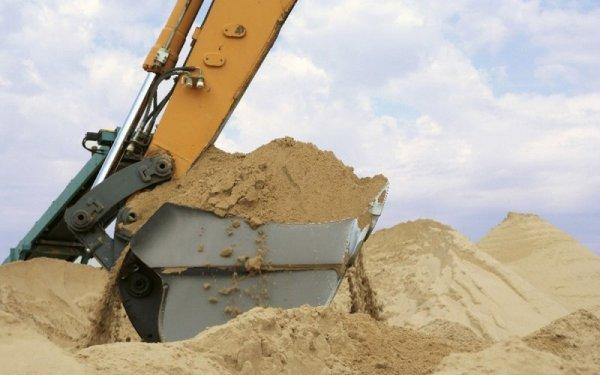 Особенности добычи строительного песка