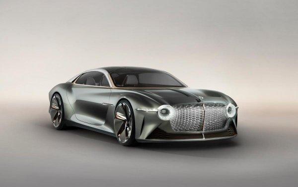 Bentley презентует роскошный электрокар