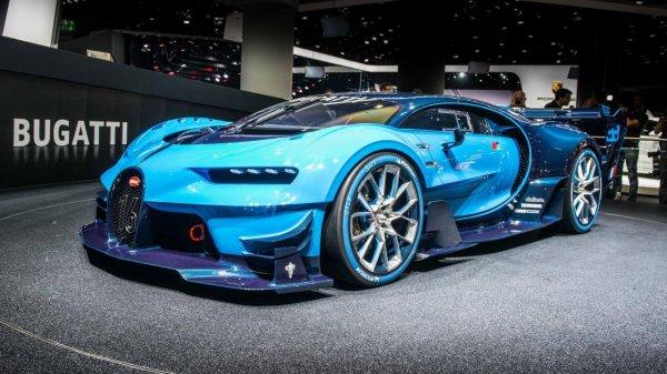 Компания Bugatti создала самую быструю в мире машину