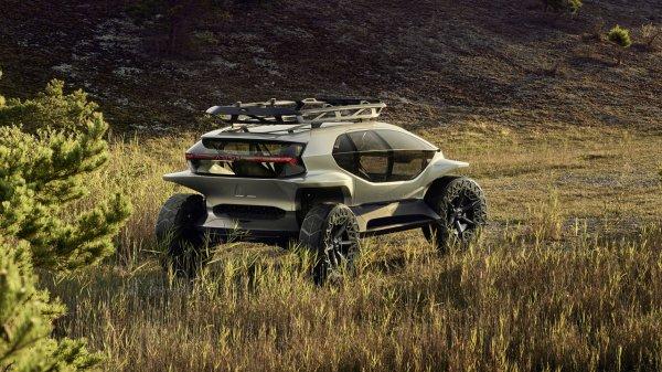 Audi презентовала внедорожную машину без фар