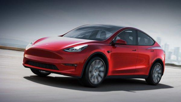 В следующем году начнётся производство машин Tesla Model Y