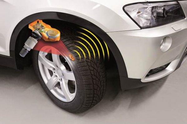 Зачем нужны датчики контроля давления в шинах?