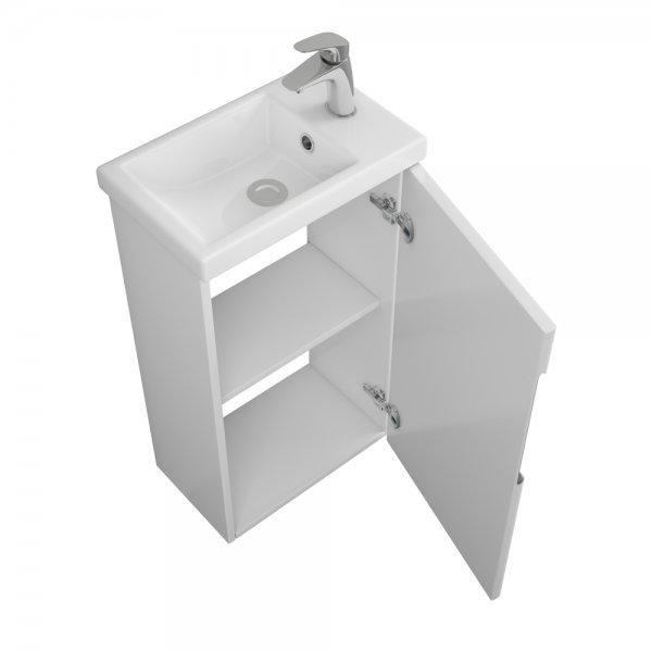 Готовые комплекты мебели для ванной комнаты